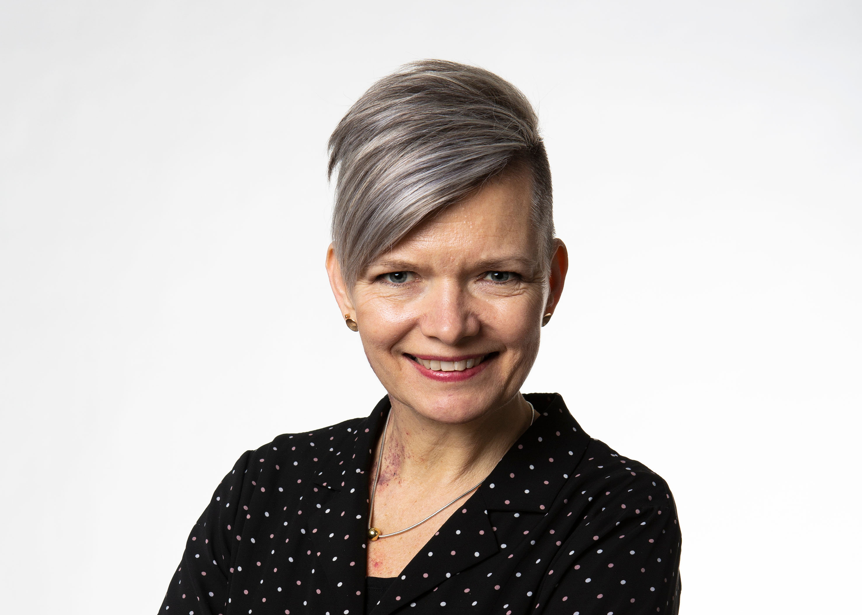 Anna Lindberg, moderator vid Innovation Day 2021.